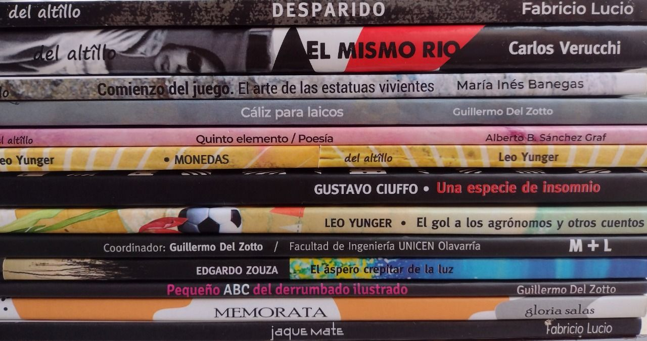 La editorial independiente Del Altillo impulsa la difusión de nuevos autores y autoras de Olavarría