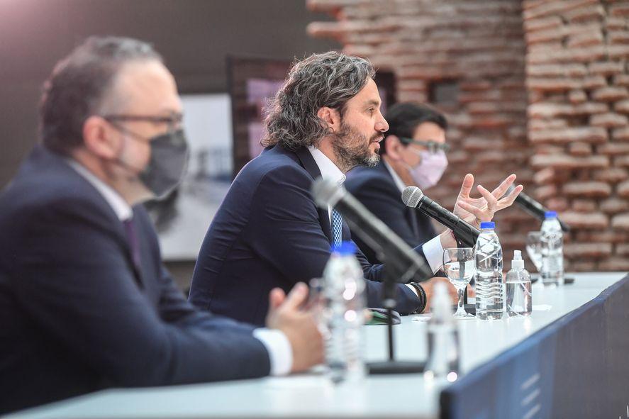 Santiago Cafiero inauguró el Congreso de la Productividad y el Trabajo