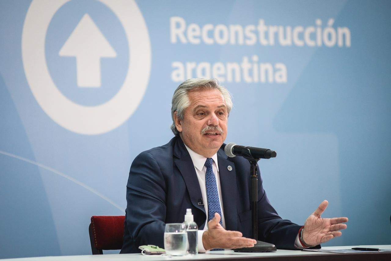 Alberto Fernández encabezará la agenda del día
