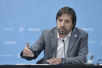 Nicolás Kreplak, ministro de Salud