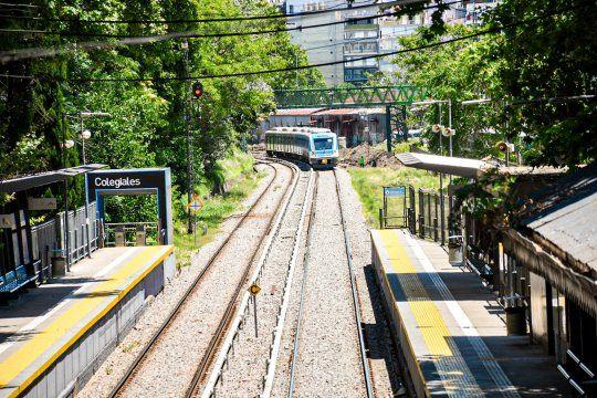 El paro de trenes comenzó a la medianoche de este martes