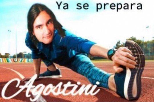 termina julio y daniel agostini ya esta listo para los memes
