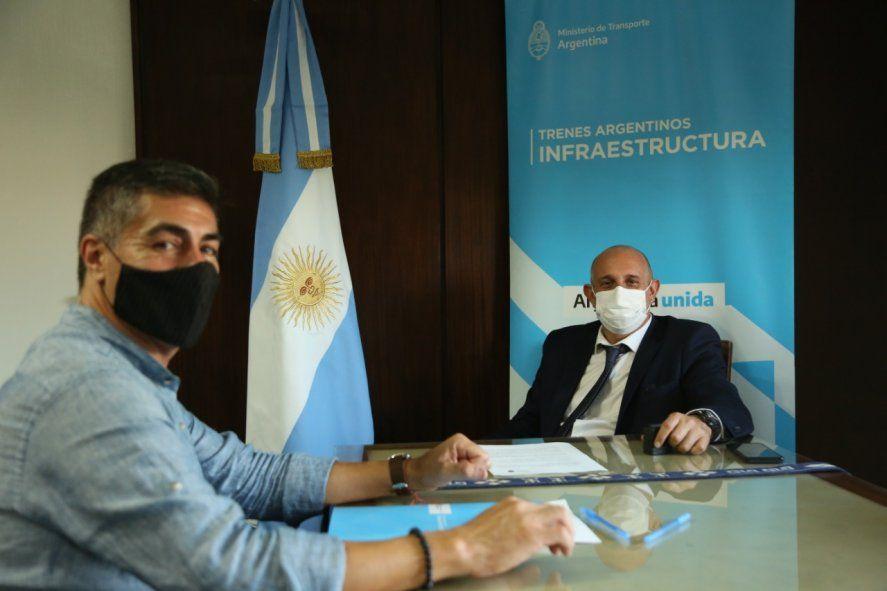 El acuerdo entre Trenes Argentinos y la Comunidad Mapuche habilita el uso precario de los terrenos de más de 4.600 metros cuadrados en la Estación Olascoaga, en el partido bonaerense de Bragado.