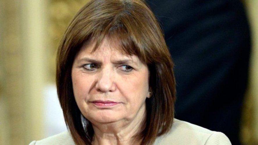Hace un mes a Bullrich la denunciaron penalmente por ofender un símbolo patrio.