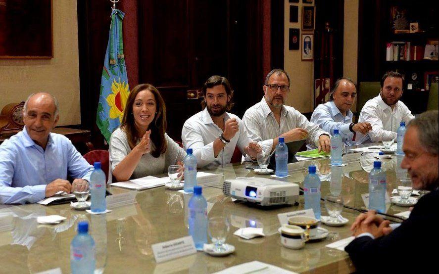 Vidal volvió a reunir su Gabinete en La Plata: obras, paritaria docente como ejes principales