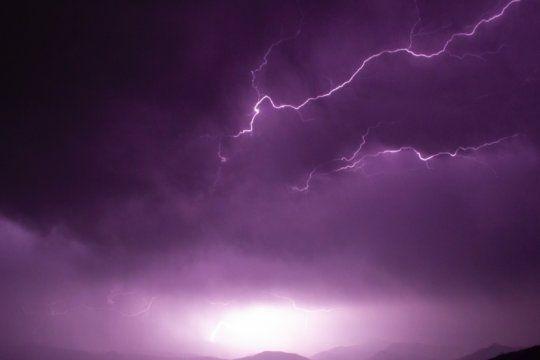 alerta meteorologico por tormentas fuertes con posible caida de granizo en el sur bonaerense