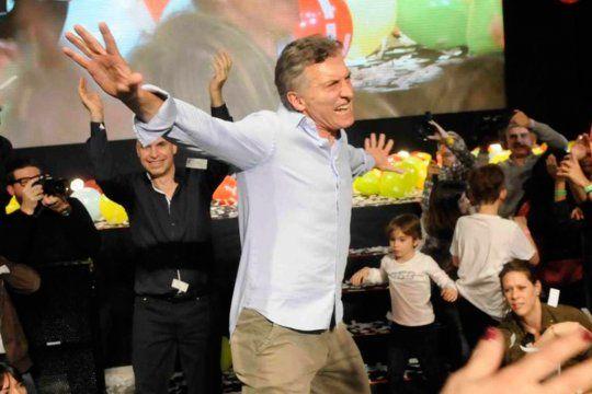 Macri en épocas de festejos: Mauricio le devolvió el palo a D´Onofrio.