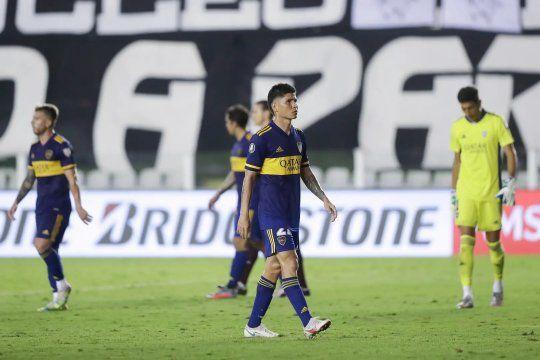 Triste y amargo final para Boca en la Copa Libertadores: nunca estuvo a la altura de la semifinal.