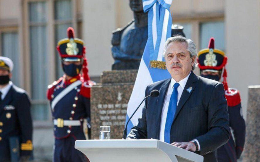 Alberto Fernández: El orgullo nacional se gana plantádose ante los acreedores