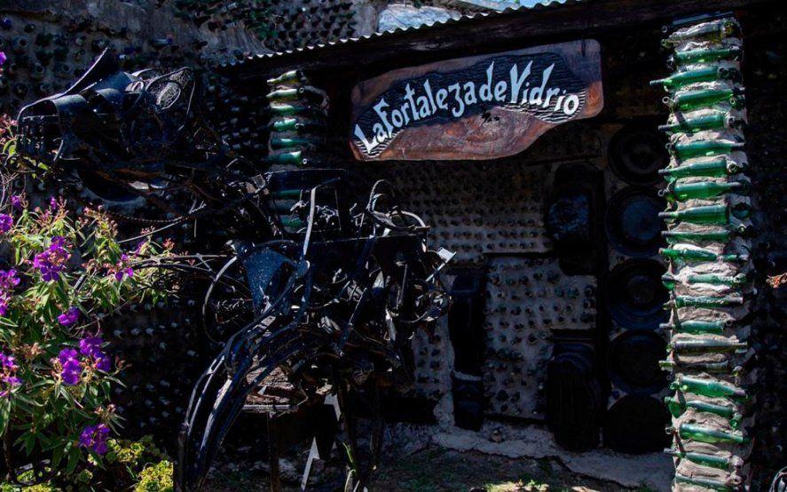 """""""La casa de las botellas"""": la historia detrás de uno de los atractivos de Quilmes"""