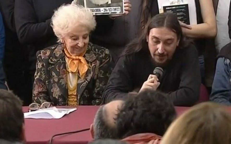 Abuelas de Plaza de Mayo presentó al nieto 130: Javier Matías