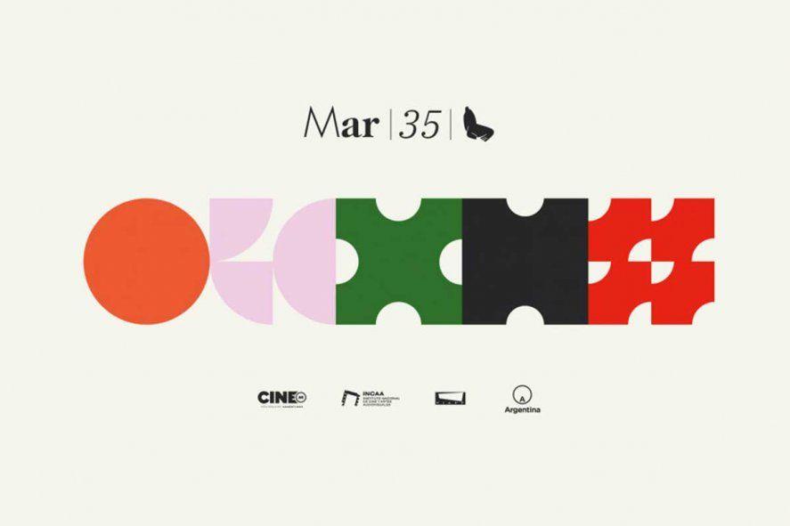 Nuevos logos para el Festival de cine internacional de Mar del Plata que arranca online el 21 de noviembre