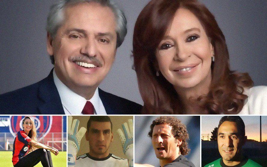 Más de 150 futbolistas mostraron su apoyo a la fórmula Fernandéz- Fernandéz: enterate quienes son