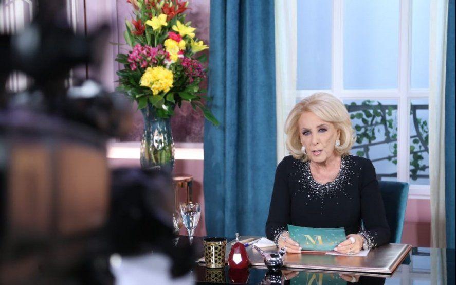 """Después de tildar a Macri de """"fracasado"""", Mirtha Legrand pidió perdón por su """"exabrupto"""""""
