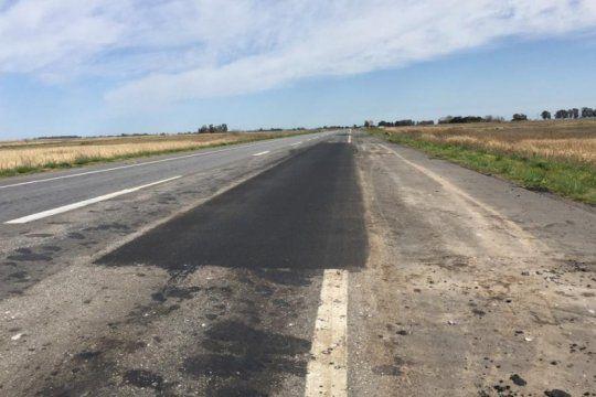increible: se rompio un tramo de la ruta 41 que la provincia inauguro hace menos de un ano