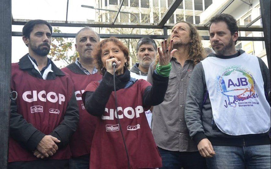 Judiciales van al paro en reclamo de paritarias y Cicop espera propuesta de aumento salarial del gobierno