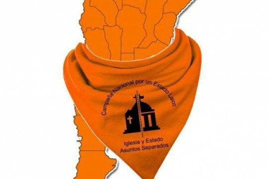 el panuelo naranja se instala como el nuevo simbolo para exigir la separacion de la iglesia y el estado