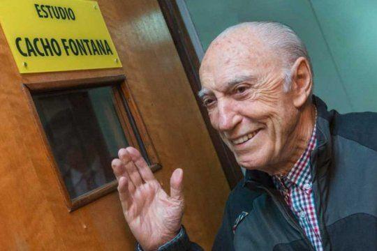 Cacho Fontana estuvo internado en el Hospital Fernández por su cuadro agravado de coronavirus.