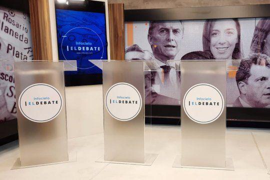 Infocielo El Debate tendrá ocho episodios, uno por cada sección electoral. Conducen Fabián Debesa y Ana Ortiz