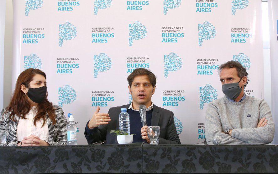 Kicillof inauguró otro Centro de Atención Primaria de Salud en Moreno