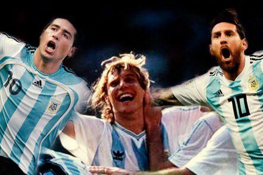 dia de la patria futbolera: 24 de junio la fecha que une a messi, riquelme y caniggia