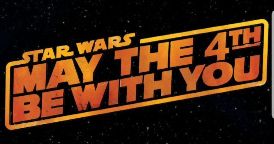 La fecha de hoy para celebrar el Día de la Guerra de las Galaxias nació por la similitud en ingles de la frase May the force be with you con May the 4th be with you