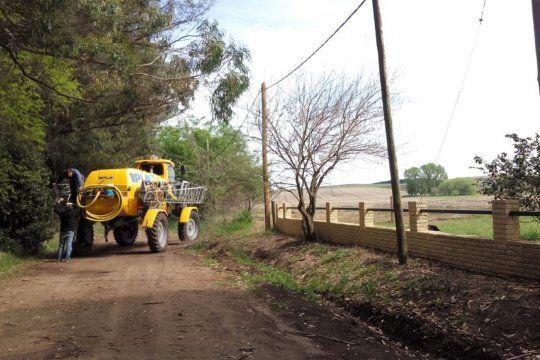 Tandil: le exigen a Lunghi poner límite a las fumigaciones con agroquímicos