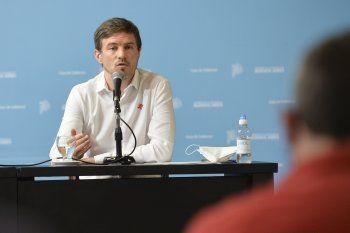 El ministro de Producción bonaerense, Augusto Costa, destacó el nivel de exportaciones de la Provincia en 2021.