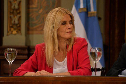 La vicegobernadora Verónica Magario.