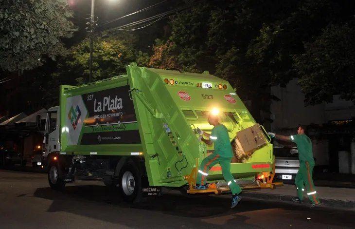 El 24 de diciembre los residuos se recolectarán al mediodía en el casco de La Plata