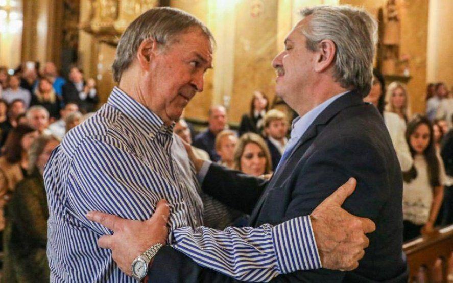 Alberto Fernández recordó a De La Sota y dijo que nunca estuvo peleado con el gobernador Schiaretti