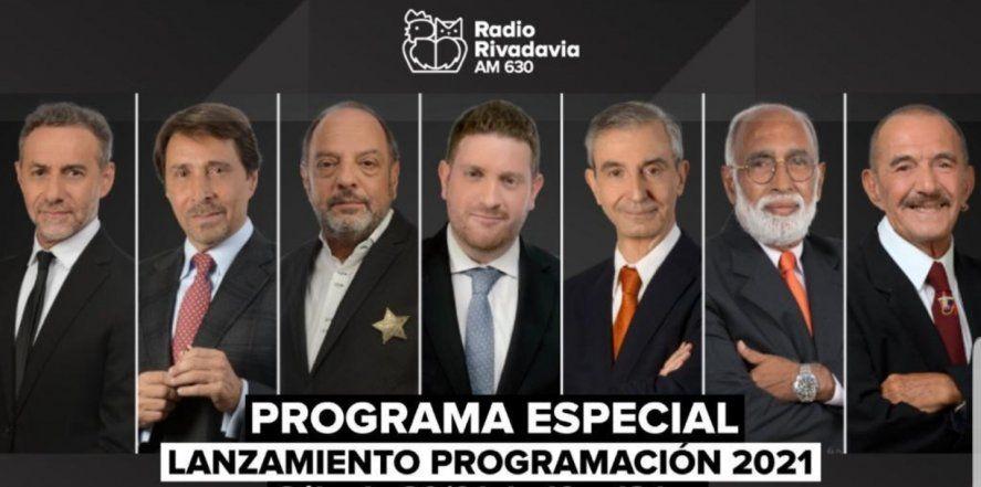 No hay mujeres en la nueva grilla de programación de Radio Rivadavia y eso hizo explotar las redes