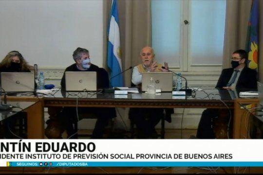 en vivo: el titular del ips expone ante la comision de prevision y seguridad social de diputados