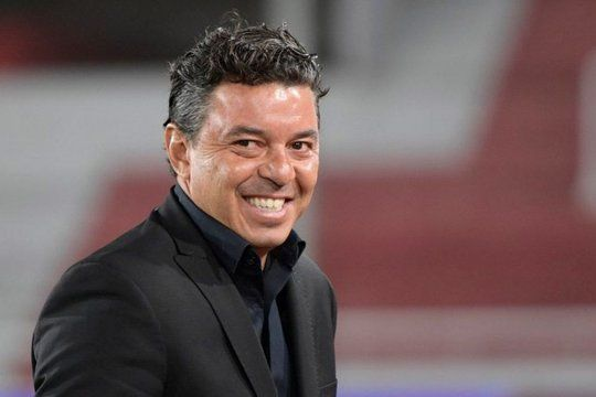 Sonrisa ganadora: Gallardo nunca dudó de su capacidad y agigantó la historia del club.