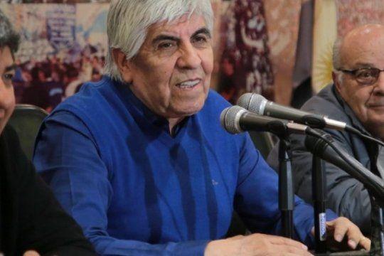 Hugo Moyano defendió al gobierno y llamó a votar al FdT