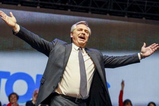 segun una encuesta, alberto fernandez puede superar el record de votos de cfk