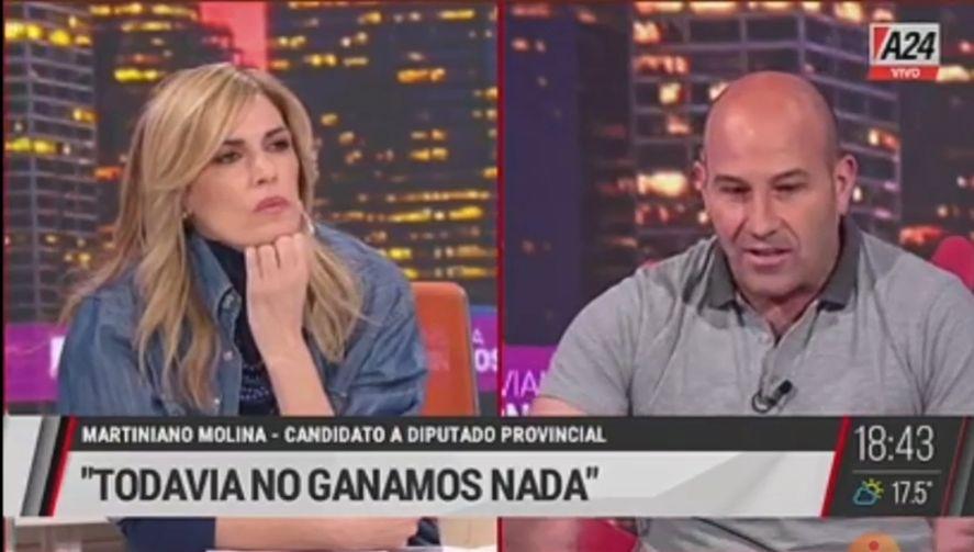 Martiniano Molina: Si gana Juntos la gente ya no se iría del país