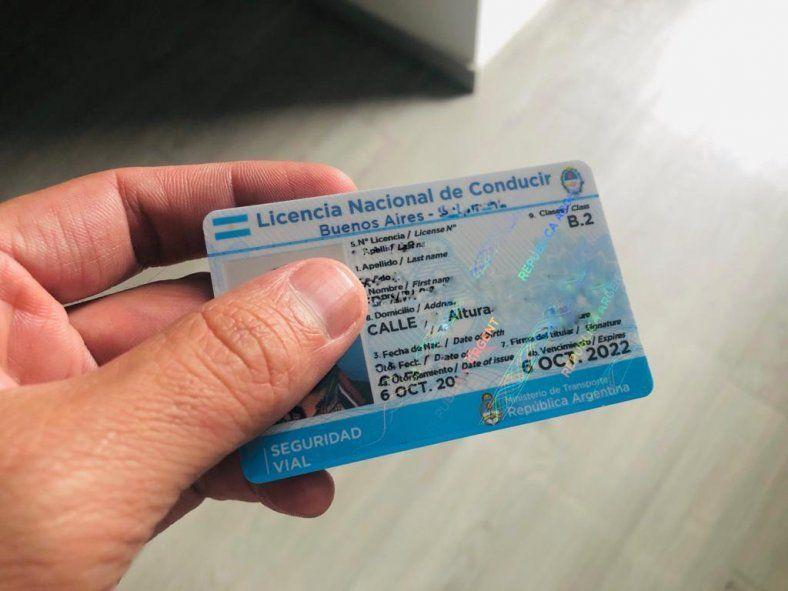 La Plata prorrogó por 180 días el vencimiento de las licencias de conducir.