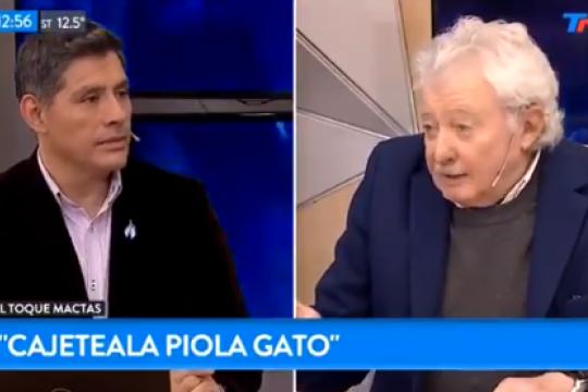 ?cajeteala piola gato?: la insolita explicacion de mario mactas sobre la frase de pablito lescano