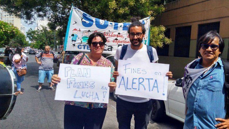 Alerta en el Plan FinES La Plata: referentes manifestaron y pidieron su reconocimiento