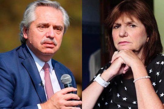 La demanda de Alberto Fernández a Patricia Bullrich tiene una nueva instancia y la mediación será el viernes por la plataforma Zoom y confidencial