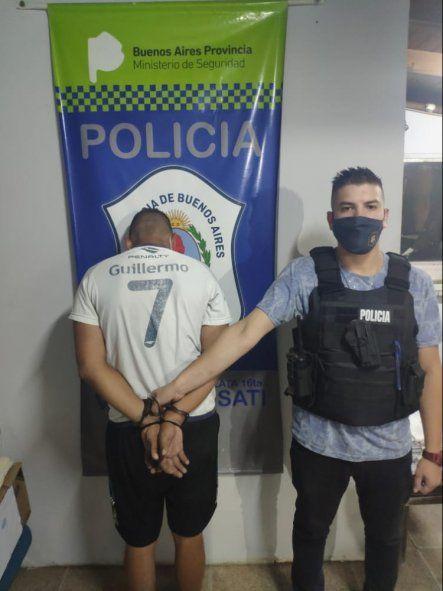 Villa Elvira: un delincuente detenido que hacía escruches