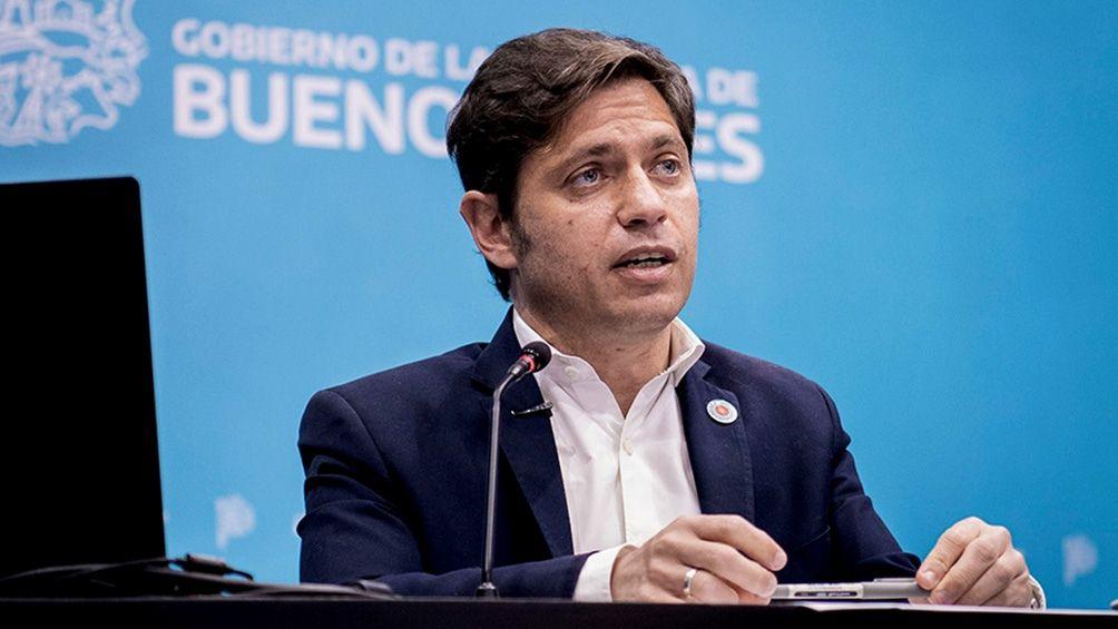 Axel Kicillof habló tras los cambios en su gabinete