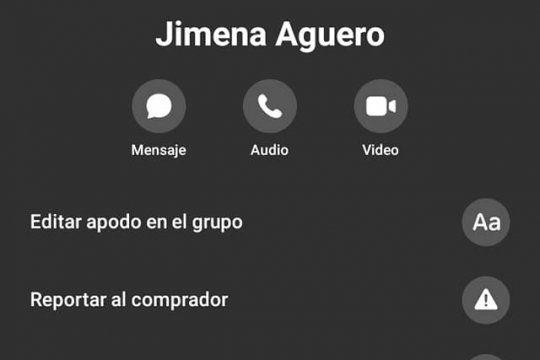 Jimena Agüero, el nombre de la falsa compradora