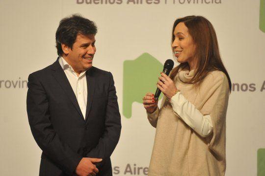 María Eugenia Vidal y Facundo Manes, una fórmula potente para Juntos por el Cambio.