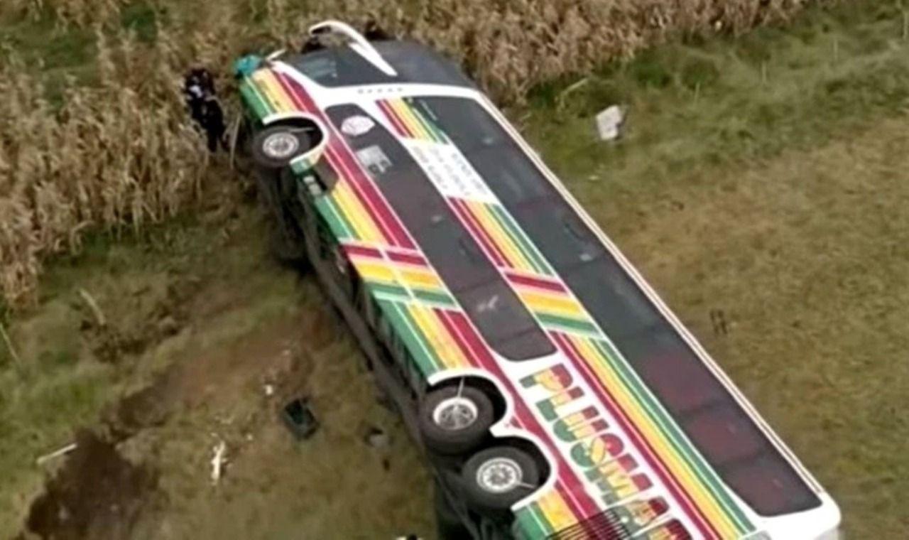 El accidente fue el martes a las 4,15 de la madrugada en la ruta 2 y el km. 134