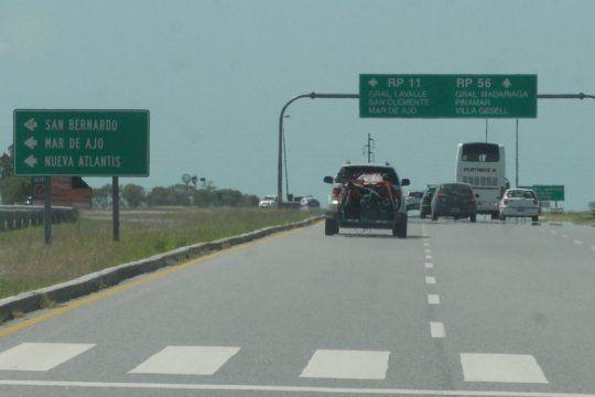 por obras, rige una restriccion de camiones en la ruta 11 que durara tres meses