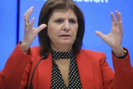 la ministra bullrich busca crear un registro de adn para quienes cometan delitos
