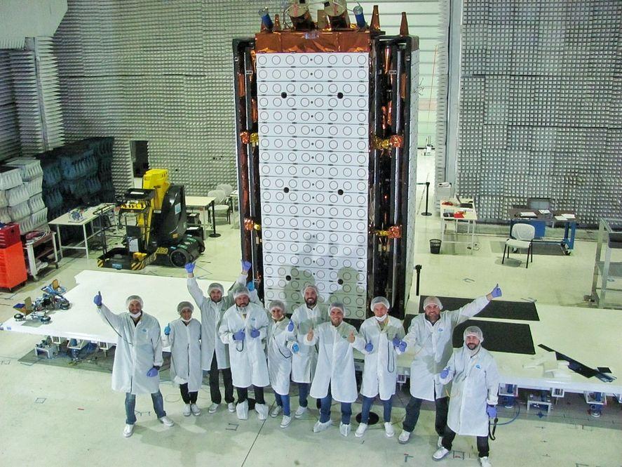 En febrero del 2020 se cumplió con éxito el último ensayo del sistema de despliegue del satélite Saocom 1B