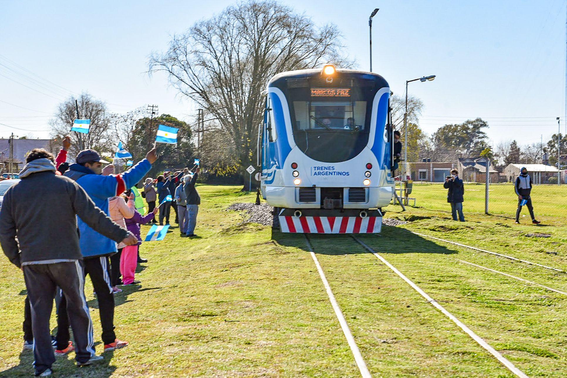 Las obras se hicieron en el marco del Plan de Modernización del Transporte Ferroviario